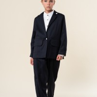 Пиджак Камелия с белыми кнопками