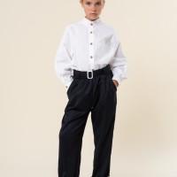Школьные брюки Аурелия с пряжкой